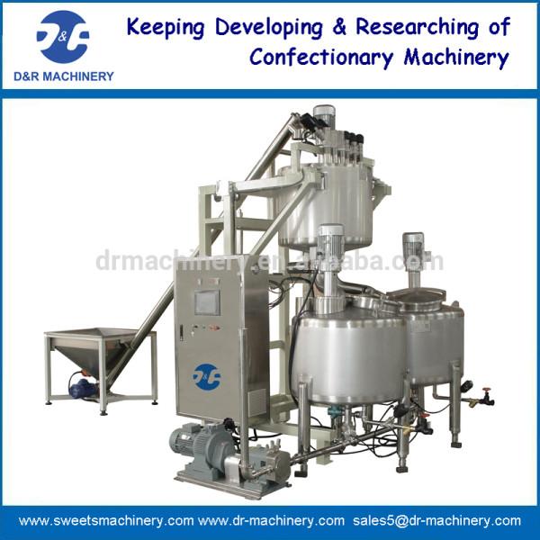 Azúcar automática dissovling tanques