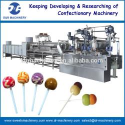 Lollipop déposer machine