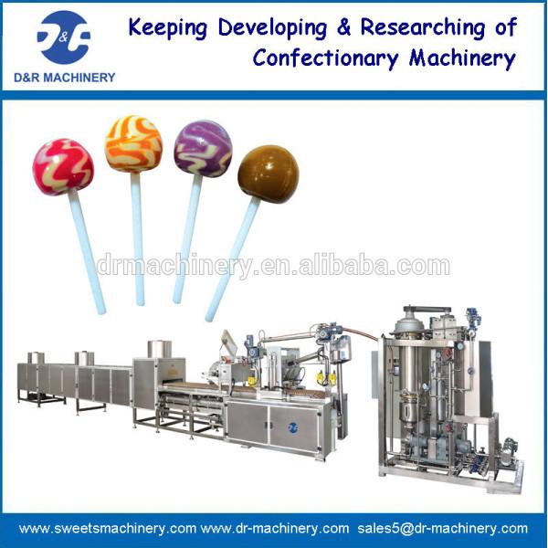 Automático lollipop línea de producción
