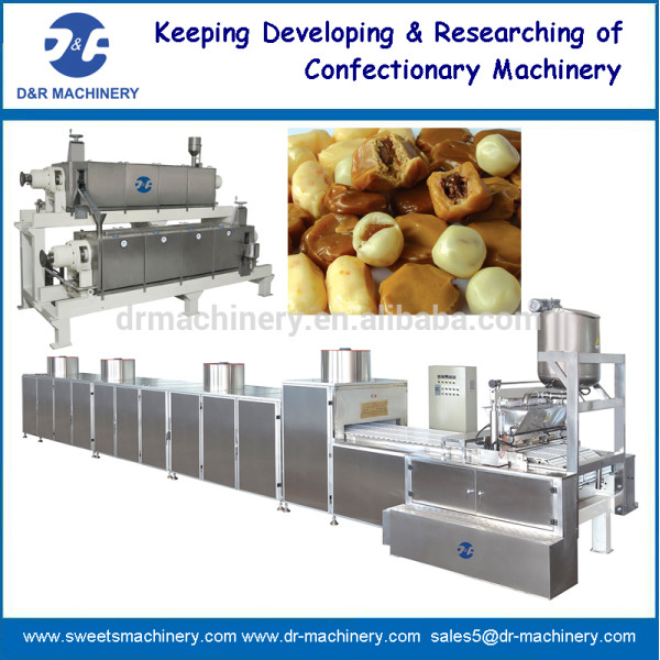 Toffee del caramelo del línea de producción
