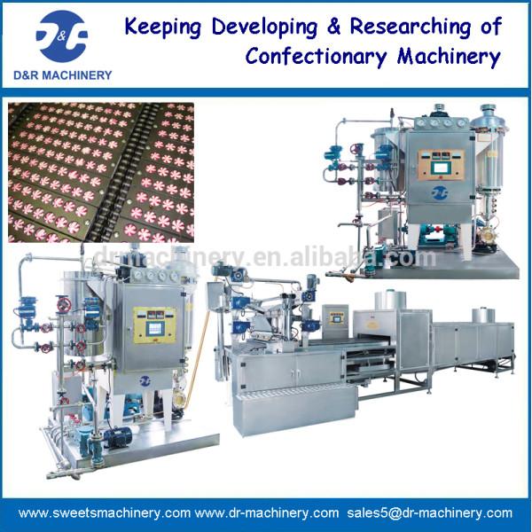 기계를 만드는 사탕