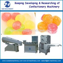 Caramelo duro que forma la máquina