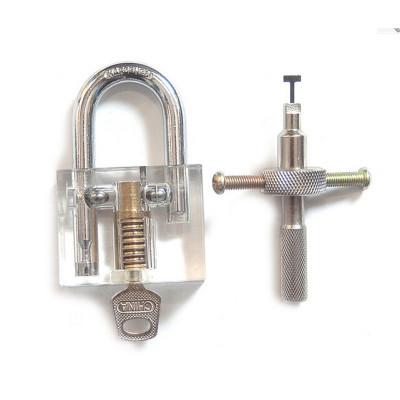 Professional Cutaway Inside View locksmith practice locks Training Skill for Locksmith Beginner With one Keys HS020163