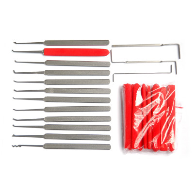 Hot sale GOSO locksmith tools lock pick set 12+3pcs