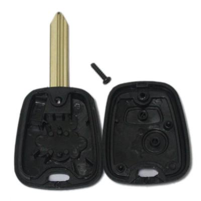 Factory sale car key shell 2 button for Peugeot Citroen