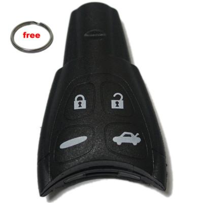 wholesale car key shell 4 button remote SAAB 93  94  95 Key shell