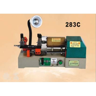 Car key duplicate machine new 283C key cutting machine locksmith key copy machine