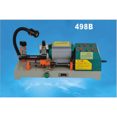 DF-498B hand manual single head horizotal key cutting machine 180w