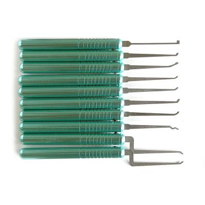Hot sale popular new arrival haoshi lock pick set professional locksmith supplies locksmith tools kit with bag