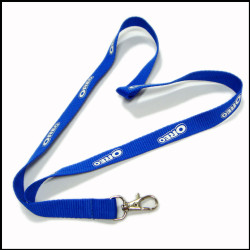 Hight quality custom fashion logo  polester lanyards