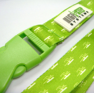 Advertising gifts lanyards with PVC buckle