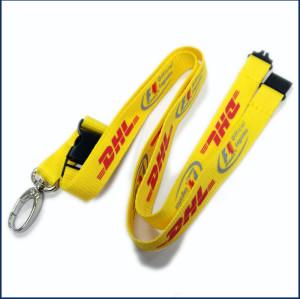 Polyester licensing hang rope neck lanyards