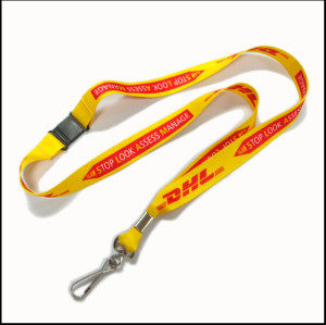 Sublomation logo lanyards for bussiness gift