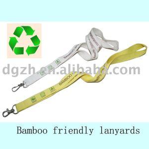 umweltfreundliche bambus lanyards