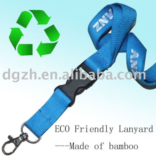 recycling lanyard