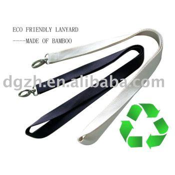 Eco freundliche lanyard, umhängeband, geschenk