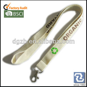 sicherheit bunckle aus recycle orangic hals lanyard