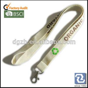 De sécurité bunckle cordon porte made de recyclage orangic