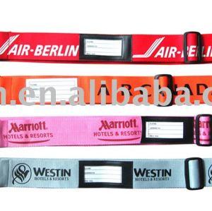 verkaufen Sie Gepäckgurt, Gepäckbügel mit Identifikation-Halter