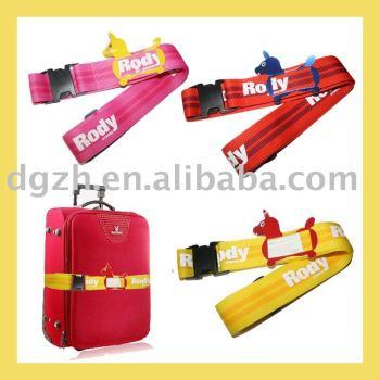 Gepäck-Gurte, Gepäckbügel mit Identifikation-Halter
