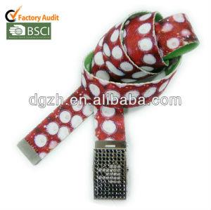 polyester stoff sublimaton logo gürtel