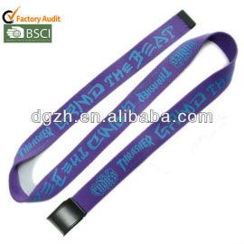Mode stoff design gürtel, mode gürtel polyeste material für farbe