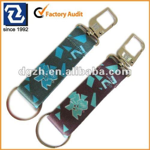 Gewebeabzuglinie-Schlüsselkette, kundenspezifisches keychain