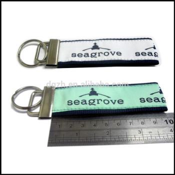 mode metall und stoff riemen schlüsselbund für souvenir
