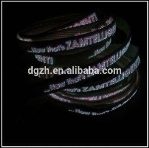 leuchtende logo schnürsenkel