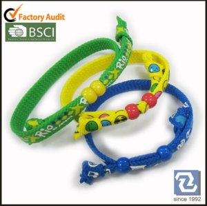 Preiswertes Polyester-Armband der Art und Weise, Perle wrisbands