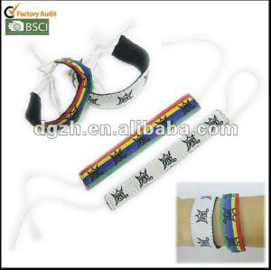 Art- und Weisepolyester-Gewebe Wristbands, Gewebearmbänder