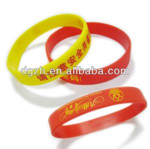 Silizium armbänder, promotion für silizium armbänder
