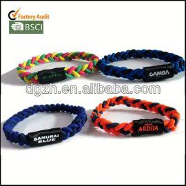 custom braccialetti in tessuto