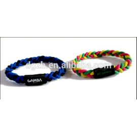 elasic braccialetti in tessuto