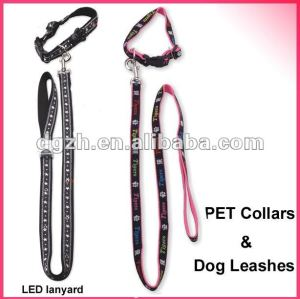 Leine und Kragen für Hunde, Hundeleine