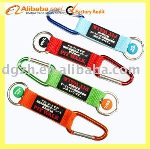 Schlüsselkette mit PVC-Firmenzeichen