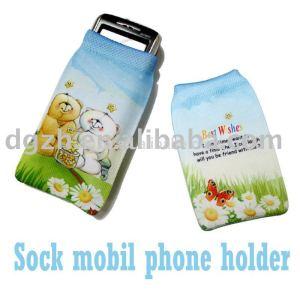 sublimazione cotone logo calze mobil come formato personalizzato