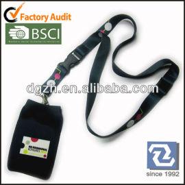 Caso calzino cordino peril supporto del telefono, cinghie del collo con caso calza per cellulare