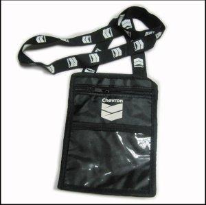 Moda sacchetto titolare cordini, cinturini collo titolare della carta con borsa moda