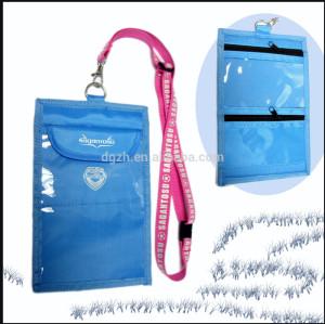 regalo passpourt borsa id titolare della carta sacchetto di cordini
