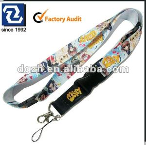 Mode niedlich lanyards, cartoon hals riemen