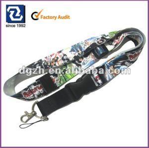 polyester sublimation lanyards
