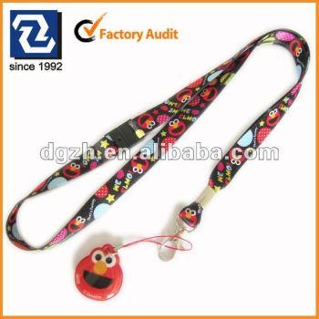 Lindo cordón de poliéster sostenedor para regalo promocional