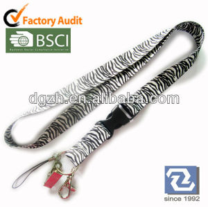 Design polyester lanyards, sublimation hals riemen