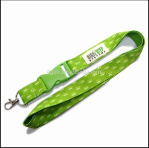Sublimation mode lanyards mit pvc-logo