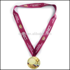 in poliestere stampato il logo medaglia titolare tracolle per sport si incontrano