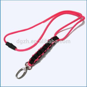 Hand- stricken nylon lanyards