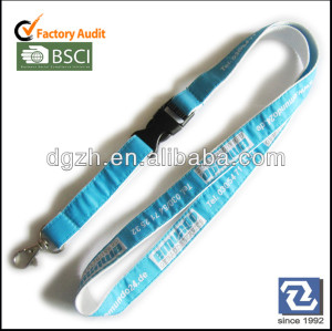 Satin riemen gewebt logos, customzied hals lanyards