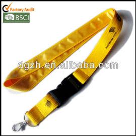 giallo cordinoin raso con stampa logo