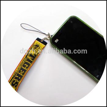 Satén de la correa para la promoción de regalo uso para el teléfono